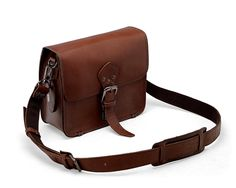 LederMann Brown Leather Sling Bag / Travel Messenger Pouch * Check out this great product. (This is an Amazon Affiliate link and I receive a commission for the sales)