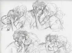 Part 2/3 House of Hades Percabeth By: Burdge  Kind of reminds me of Dristan.