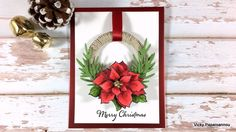 Clips-n-Cuts | Build a wreath | Stampendous | http://www.clips-n-cuts.com