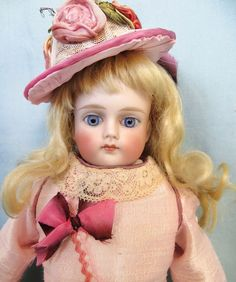 ABIGAILS ATTIC on Ruby Lane http://www.rubylane.com/item/594547-SYx20006/Antique-Unmarked-German-Bisque-Child #antiquedoll