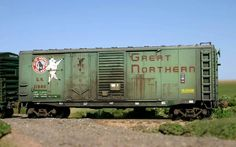 Ho Scale Trains, Ho Trains, Model Trains, Train Car, Train Tracks, Rr Car, Great Northern Railroad, Weather Models, Railroad Pictures