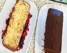 Receta: Cocineros argentinos /Budín de chocolate con corazón de dulce de leche y de frutos rojos