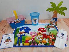 topo de bolo do sonic Bolo Sonic, Decorating Cakes, Kids Part