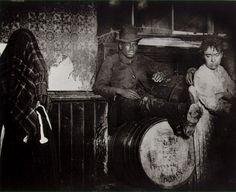 Slums of New York, 1890's - Jacob Riis