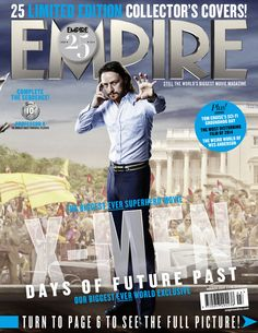 EMPIRE Magazine - 25 Limited Edition Collector's Covers - Charles Xavier
