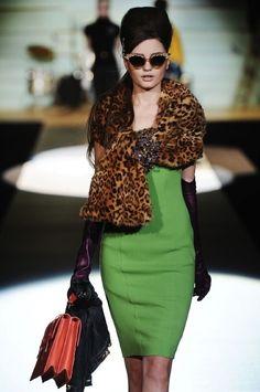 All Italian girls love leopard, straight up holla!