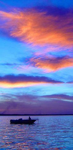 Sunset in Palmas, Tocantins, Brazil