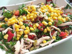 Diät Hühnersalat | Diätliste | Gewichtsverlust Methoden  Videolu Tarif Healthy Eating Tips, Healthy Nutrition, Fruits And Vegetables, Veggies, Vegetable Drinks, White Meat, Chicken Salad, Salad Recipes, Food And Drink