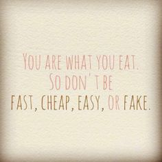 Good quote. Even so, when you plan right you can also eat healthy and have it be quick and easy. I call it leftovers.