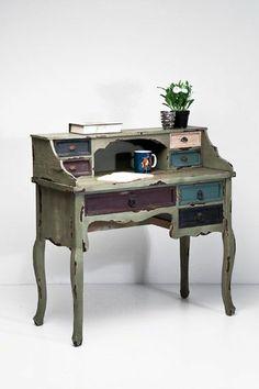 Chalk Painted Secretary Desk | Secretary Desk at Urban Outfitters