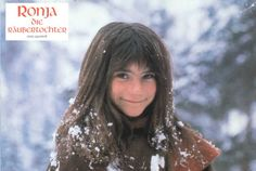 Ronja, the robber´s daughter. Later She became in 'real' life a politian! Snow Queen, Ice Queen, Eve Children, Winter Fairy, Winter Magic, Childhood Stories, Sun And Stars, Film Books, Children's Books