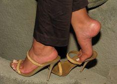 Mesmerizing feet — Footplay in high heels. #Hothighheels