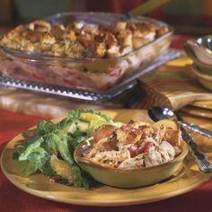 Chicken Cobbler Casserole - South Louisiana Recipes