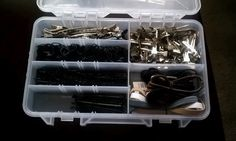 Organize hair supplies - Adjustable tackle box for all those pins, clips, bands, bobbies, etc.