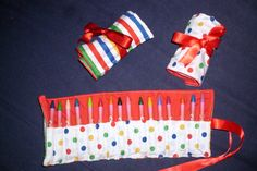 Crayon Roll ~ Free Tutorial ~ how to make your own crayon roll carrier. « MadeByYoursTruly