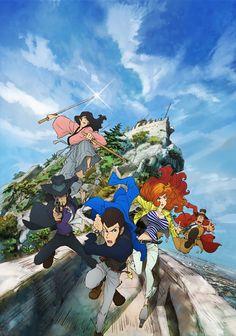 "Crunchyroll - Screenshots Preview New ""Lupin III"" Anime (Spoiler Warning)"