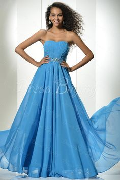 Strapless Floor-Length Prom/Homecoming Dress  US$ 111.99