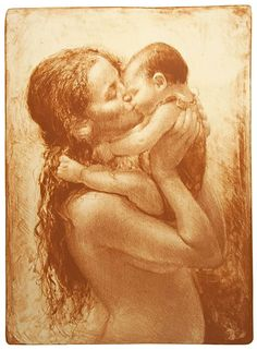 All that I am or ever hope to be, I owe to my angel Mother. ~Abraham Lincoln Jonny Andvik (lithogragh)