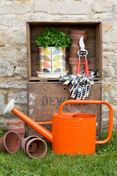 Orla Kiely #wildandwolf #garden http://www.gorgeousgifts.co.uk/gifts-for-christmas-2014/christmas-gifts-for-her/plant-pot-scribble-stem/?search=true