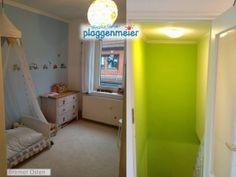 Das Kinderzimmer ist jungsgerecht geworden - die Dekoelemente auf der Tapete haben wir in einem Bremer Geschäft besorgt.
