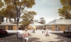 CREO ARKITEKTER and JAJA architects to Restore and Expand Roskilde Swimming Hall Outside Copenhagen,Entrance. Image © CREO ARKITEKTER A/S & JAJA architects