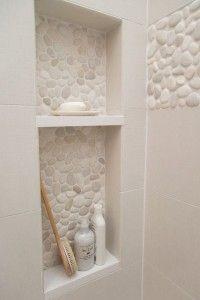 Piedra en el baño