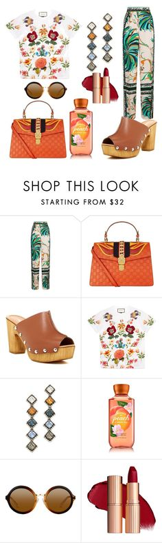 """Untitled #544"" by w222f33363 ❤ liked on Polyvore featuring Emilio Pucci, Gucci, Charles David and DANNIJO"