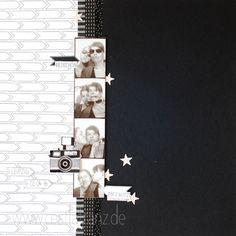Bildschön Layout 12x12 Fotostrip