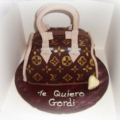 Cake Decorating - Louis Vuitton Hand Bag Cake Tutorial