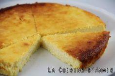 Gâteau à la brousse au citron (recette corse)