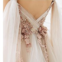 Wedding dress PETUNIA with long train by Ange Etoiles Ange image 6 Source by dresses Lace Wedding Dress, Dream Wedding Dresses, Bridal Dresses, Ethereal Wedding Dress, Different Color Wedding Dresses, Unique Wedding Dress, Boho Wedding, Colored Wedding Gowns, Pink Wedding Gowns