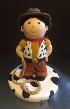Porcelain Cowboy cake topper!!! www.sweettreatusa.com