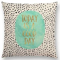 Today Is A Good Day Laptop & Ipad Skin by Elisabeth Fredriksson - MacBook / Pro / Air Canvas Art Prints, Framed Art Prints, Canvas Wall Art, Color Quotes, Quote Posters, Good Day, Duvet Covers, Positivity, Words