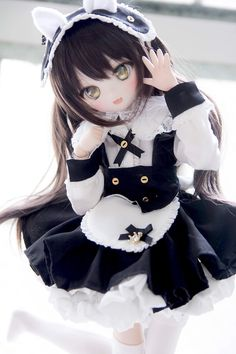 Kawaii Doll, Kawaii Cute, Kawaii Anime, Anime Dolls, Bjd Dolls, Pretty Dolls, Beautiful Dolls, Pelo Anime, Cute Love Images