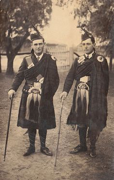 +~+~ Antique Photograph ~+~+  Two fine gentlemen ~ Jack Allen and Jack McKinnon 1914.