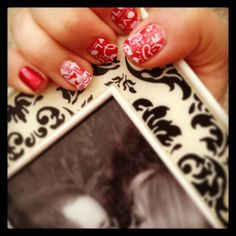 Love Notes: Jamberry nail wrap Order at: nailvana.jamberrynails.net  #jamberry #valentines #love