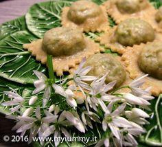 tortelli di patate e aglio orsino