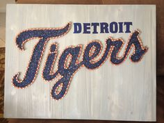 String of the Art offers DIY string art project kits for teens and adults. Every project kit includes string art patterns, templates, instructions, and crafts. Art Pictures, Art Pics, Art Projects, Projects To Try, String Art Patterns, Tigers Baseball, Baseball Bats, Tiger Art, Diy Crafts To Sell