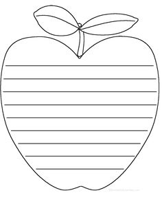 PDFs for lots of shape poems Apple Activities, Autumn Activities, Handwriting Template, Apple Template, Shape Poems, Writing Lines, Apple Unit, Teaching Poetry, First Grade Writing