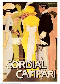 Cordial Campari Kunstdruk