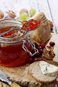 I've just finished making some Medlar Jelly from fruit gathered in my local park. Medlars are forgotten and neglected now like quince and mulberries, but John Evelyn had Medlar trees in his Deptfo. Jelly Recipes, Sweet Recipes, Dessert Recipes, Desserts, Mulberry Recipes, Spagetti Recipe, Szechuan Recipes, High Tea, Jars