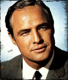 Marlon Brando the legend! He is widely considered the greatest movie actor of all time.