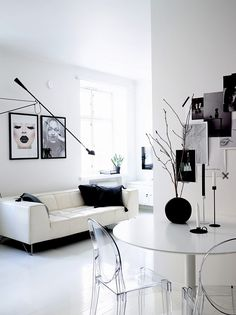 A Small All-White Apartment By Laura Seppänen - Gravity Home
