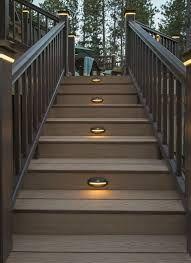 Stair Lights Ideas Walks Outdoor Wall Bat Recessed Deck