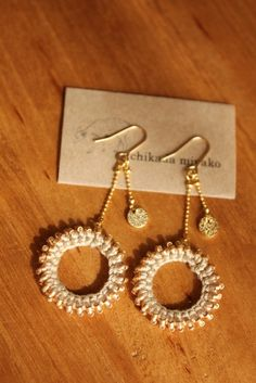 miyachika rev crochet earrings