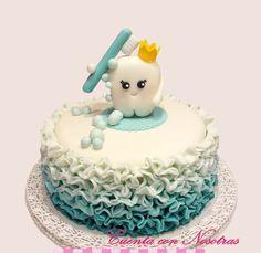 Torta Dentista Torta Diente Dentist Cake Teen Boy Birthday Cake, Birthday Cakes For Women, Dental Cake, Doctor Cake, Sunshine Birthday Parties, Tooth Cake, First Tooth, Cake Decorating Supplies, Cake Tutorial