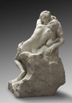 Auguste Rodin, The Kiss @artsy