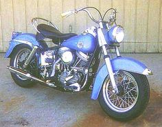 1958 Harley-Davidson Pan Head Duoglide