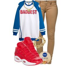 """BADDE$T."" by cheerstostyle on Polyvore"