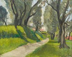 Henri Matisse (1869-1954) Paysage du midi, vers 1919